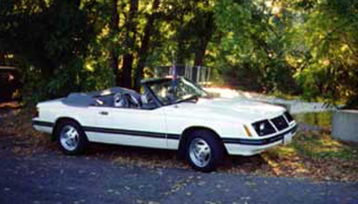 Jeff & Priscilla's 1983 GLX Convertible (MVM #184 & 185)