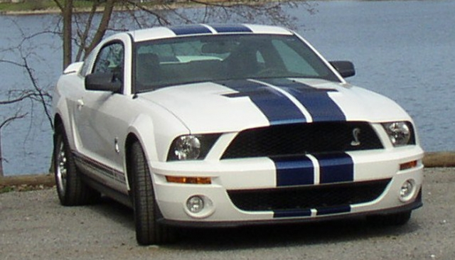 Frank & Barb's 2007 Shelby GT 500