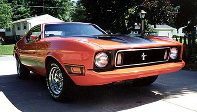 Jim's 1973 Mach I (In Memoriam)
