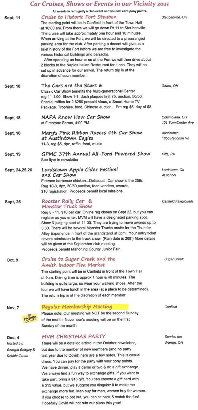 MVM Events